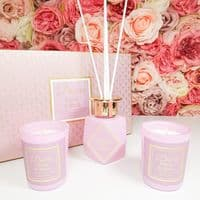 Peony & Blush Diffuser & Candle Gift Set
